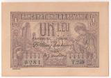 ROMANIA 1 LEU 1915 VICEGUVERNATOR UNC SERIE 3 CIFRE