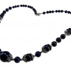 Colier pietre naturale lapis lazuli