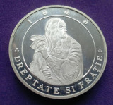 NICOLAE BALCESCU Medalie din Argint 925% - Proof - in cutie + brosura/certificat