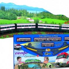 Trenulet electric calatori Cercanias RENFE cu peisaj, Seturi complete
