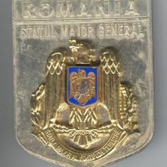 STATUL MAJOR GENERAL al FORTELOR TERESTRE - Medalie Militara