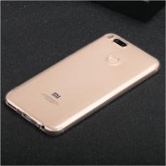 Husa silicon 0.3mm cu protectie la camera pentru Xiaomi Mi A1 ( Mi 5X ), Alt model telefon ZTE, Transparent