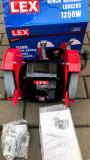 Polizor de banc/Dublu - LEX LXBG205 / 200 mm - 1250 W