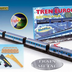 Trenulet electric calatori EUROCITY - Pequetren, Seturi complete