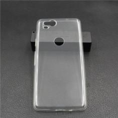 Husa silicon 0.3mm cu protectie la camera pentru Google Pixel 2 / Pixel 2 XL - Husa Telefon, Transparent