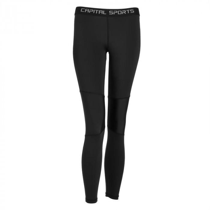 CAPITAL SPORTS Beforce, pantaloni de compresie, lenjeria funcțională, femei, dimensiunea XL foto mare