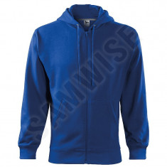 Hanorac de barbati Trendy Zipper (Culoare: Albastru regal, Marime: M, Pentru: Barbati) - Hanorac barbati