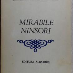 ION POPA ARGESANU - MIRABILE NINSORI (VERSURI) [editia princeps, 1983] - Carte poezie