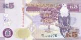 Bancnota Zambia 5 Kwacha 2012 - P50 UNC