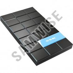 Rack extern SSK SHE080, USB 3.0, 2.5 inch, SATA, Black - Rack HDD