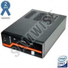 Calculator GATEWAY DS10G SFF, Intel Core 2 Duo E8400 3GHz, 4GB DDR3, 160GB, Video Intel GMA X4500 DVI, DVD-ROM - Sisteme desktop fara monitor Gateway, Fara sistem operare