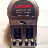 Incarcator acumulatori , baterii - de tip UK