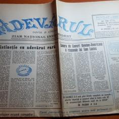 ziarul adevarul 10-11 octombrie 1992