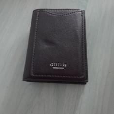 Card holder/Mini portofel GUESS NOU! Import USA - Portofel Barbati Guess, Port card