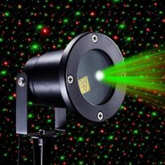 Proiector laser de exterior stele miscatoare si joc de lumini tip Star Shower Motion