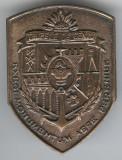 TRUPELE de GENIU - Insigna MILITARA - Romania - Rara