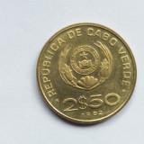 Capu Verde 2,5 escudos 1982, Australia si Oceania
