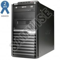 Calculator Acer Veriton M421G, AMD Athlon II X2 250 3GHz, 4GB DDR2, 160GB, DVD-RW - Sisteme desktop fara monitor