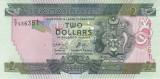 Bancnota Insulele Solomon 2 Dolari (2011) - P25 UNC ( serie C/2 )