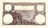 Bancnota 100 lei 1940 filigran BNR frumoasa