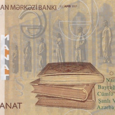 Bancnota Azerbaidjan 5 Manat 2017 - P32b UNC - bancnota asia