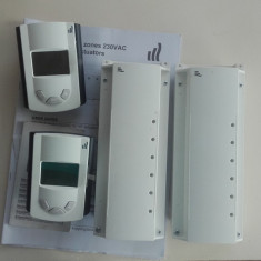 Vand termostate si panouri e comanda incalzire in pardoseala - Termostat ambient