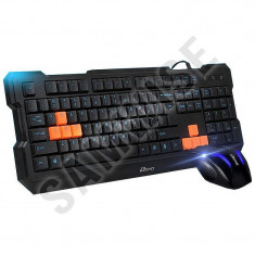 Kit gaming Mouse + Tastatura Somic Xeiyo T502, Black