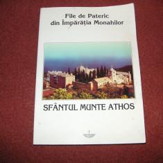 Antonie Ieromonahul -File de pateric- Din imparatia monahilor- Sf. Munte Athos