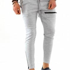 Pantaloni de trening gri - LICHIDARE DE STOC - 9928 - Pantaloni barbati, Marime: S, M, L, XL, Culoare: Din imagine