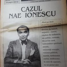"""ziarul dilema 30 iunie-6 iulie 1995-articolul """"cazul nae ionescu"""""""