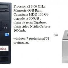 PROMO GAMES/OFFICE - Sisteme desktop fara monitor Gigabyte, AMD Turion X2