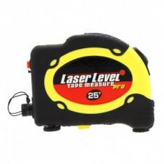 Nivela cu laser si ruleta multifunctionala Level Pro LV-07