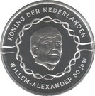 Olanda 10 Euro 2017 - Willem-Alexander (50th Birthday) 33 mm KM-New UNC !!!, Europa