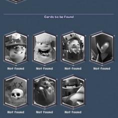 Cont de clash royale arena 10