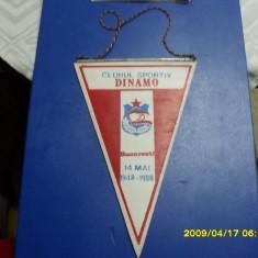 Fanion aniversar CS Dinamo - Fanion fotbal