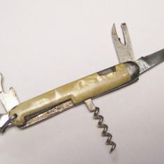 Briceag mic multifunctional Rosi Germania anii 50 - Briceag/Cutit vanatoare, Cutit de purtat la gat