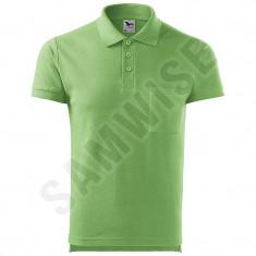 Tricou Polo de barbati Cotton, Verde iarba (Culoare: Verde iarba, Marime: XXL, Pentru: Barbati) - Tricou barbati