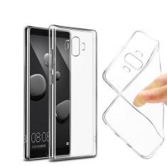 Huawei Mate 10 Pro - Pachet Husa Silicon Transparent si Folie Sticla Securizata - Husa Telefon