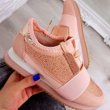 Adidasi Voguesta Pink #1198A - Adidasi dama