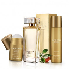 Set Giordani Gold Original - Parfum, Spray corp, Roll-on - Oriflame - Nou - Set parfum