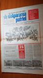 ziarul apararea patriei octombrie 1987-25 octombrie ziua armatei RSR