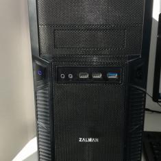 Vand sistem calculator PC cu i5 generatia a 4a + monitor HD 1366x768 - Sisteme desktop cu monitor Asrock, Intel Core i5