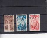 ROMANIA 1943  LP 154 I   CONSILIUL DE PATRONAJ SERIE STAMPILATA, Stampilat