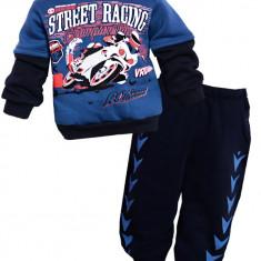Trening gros Street Racing din 2 piese, 4-5 ani