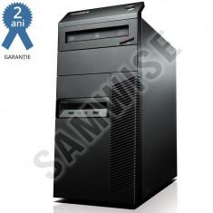 Calculator Lenovo M92P MT, Intel Pentium G2120 3.1Ghz, 4GB DDR3, 500GB, ATI HD 7450 1GB DDR3, DVD-RW - Sisteme desktop fara monitor