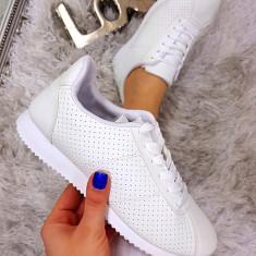 Adidasi SuperStar White #1155A - Adidasi dama