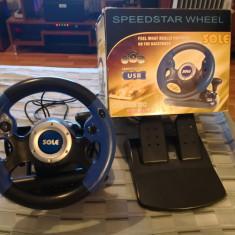 Vand consola (valan + pedale + schimbator) Sole - GTA 5 PC Rockstar Games