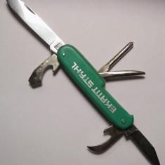 Briceag verde multifunctional Rostfrei Germania - Briceag/Cutit vanatoare, Cutit de purtat la gat