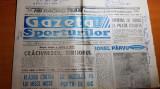 ziarul gazeta sporturilor 13 septembrie 1994-etapa diviziei A la fotbal