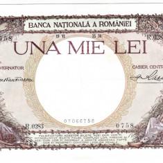 Bancnota 1000 lei 1936 XF/a.UNC - Bancnota romaneasca